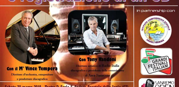 Masterclass di Canto Moderno con registrazione di CD