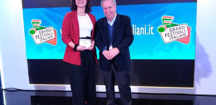 La nostra Claudia Messina trionfa a Casa Sanremo nella finale nazionale dei Grandi Festival Italiani